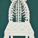 Natural History Side Chair, Cut Paper by Gail Cunningham