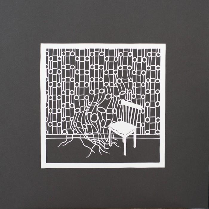 Distortion I, Gail Cunningham, Cut Paper, 2016